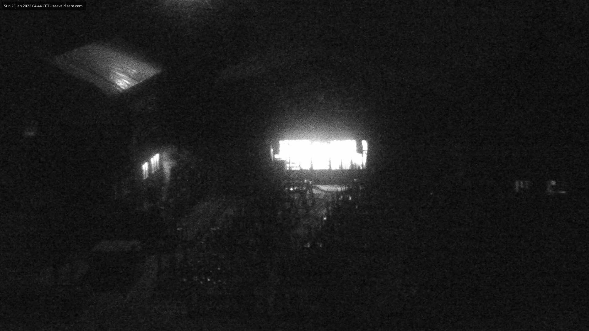 Webcam Val d'Isère rifugio La Folie Douce
